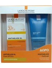 LA ROCHE-POSAY Anthelios XL Ultra-Light Fluid SPF 50+ 50ml & Posthelios Hydra Gel 100ml