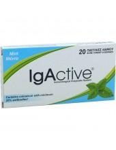 IGACTIVE Mint 20 παστίλιες λαιμού