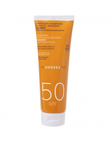 KORRES Sunscreen Face-Body Emulsion SPF50 250ml Bonus Pack