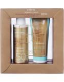 KORRES Sunscreen Body Emulsion Red Grape Against Premature Skin Ageing SPF50 150ml & After Sun Body Emulsion 125ml