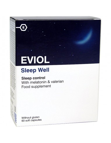 EVIOL Sleep Well 60 soft caps