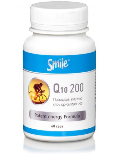 SMILE CoQ10 200mg, 60 Caps