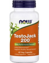 NOW TestoJack 200 60 Veg Caps