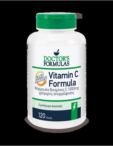 DOCTOR'S FORMULAS Vitamin C Formula 120 Tabs