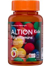 ALTION Kids Polyvitamins 60 ζελεδάκια