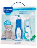 MUSTELA Limited Box: Cleansing Gel 500ml & Shampooing Doux Απαλό Shampoo 500ml με Δώρο Αρκουδάκι