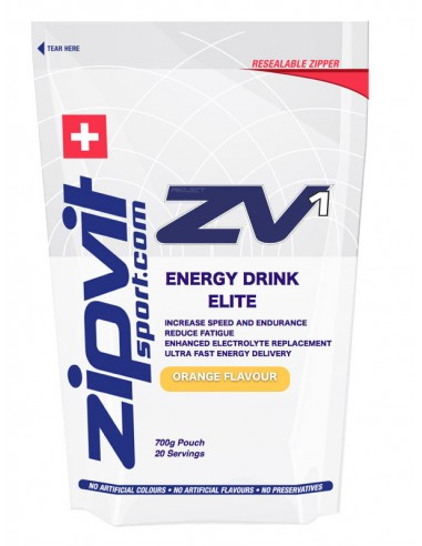 ZIPVIT ZV1 Energy Drink Elite Orange 700g