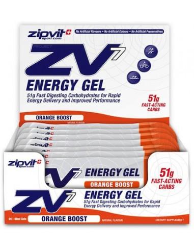 ZIPVIT ZV7 Energy Gel Orange 24 x 60ml