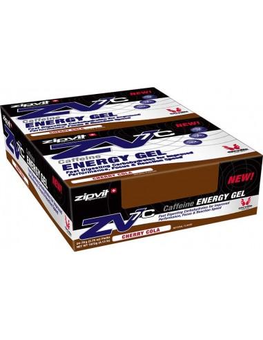 ZIPVIT ZV7c Caffeine Energy Gel Cherry Cola 24 x 60ml