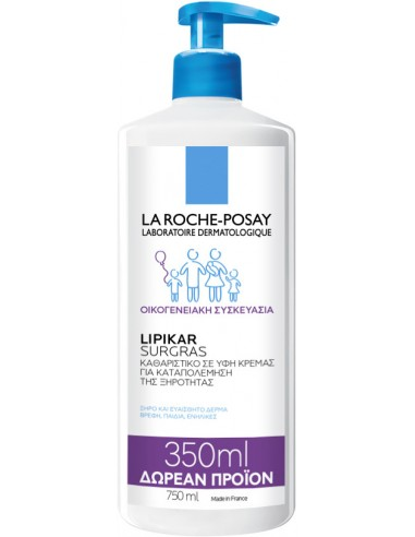 LA ROCHE-POSAY Lipikar Surgras 750ml