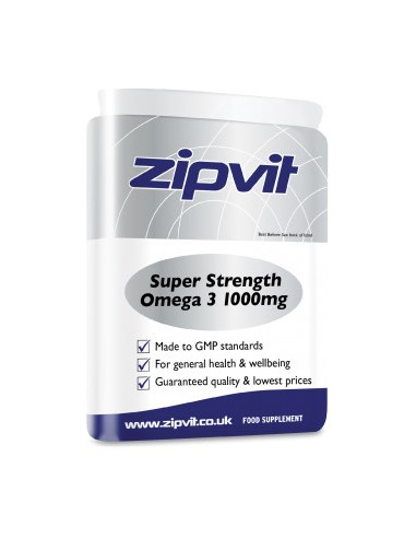 ZIPVIT Super Strength EPA & DHA Omega 3 1000mg 90 Caps