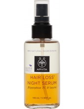 APIVITA Hair Loss Night Serum Hippophae TC & Laurel 100ml