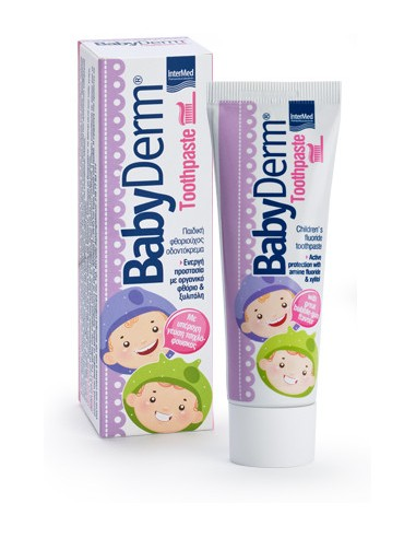INTERMED BabyDerm Toothpaste with great Bubble-gum flavour 50ml