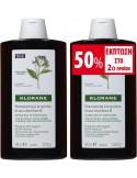 KLORANE Shampoo with Quinine (κυνίνη) and B vitamins 400ml X 2 με ΕΚΠΤΩΣΗ 50% στο 2ο προϊόν