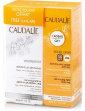 CAUDALIE Vinoperfect Radiance Serum Complexion Correcting 30 ml & ΔΩΡΟ Soleil Divin 40ml