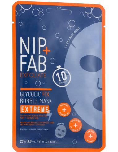 NIP+FAB Glycolic Fix Bubble Sheet Mask Extreme