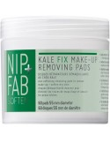 NIP+FAB Kale Fix Makeup Removing Pads 60 τεμ
