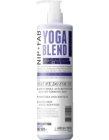 NIP+FAB Yoga Blend Body Lotion 490ml