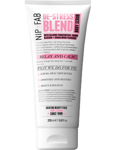 NIP+FAB De-Stress Blend Body Scrub 200ml