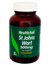 HEALTH AID ST.JOHNS WORT 500mg 30 tabs