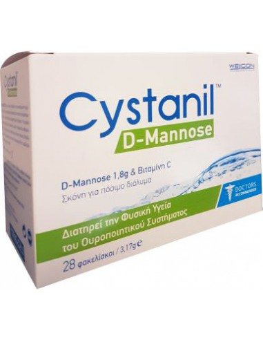 WELLCON Cystanil D-Mannose 28 x 3.17gr