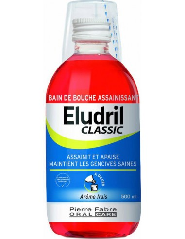 ELGYDIUM Εludril Classic Solution 500ml NEO