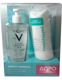 VICHY PURETE THERMALE LOTION MICHELLAIRE 3 in 1 400ml & ΔΩΡΟ δίσκοι ντεμακιγιάζ
