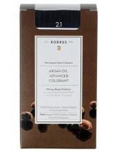 KORRES Argan Oil Advanced Colorant  2.1 Μαύρο Μπλε, 50ml