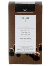 KORRES Argan Oil Advanced Colorant 3.0 Καστανό Σκούρο, 50ml