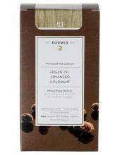KORRES Argan Oil Advanced Colorant 8.1 Ξανθό Ανοικτό Σαντρέ, 50ml