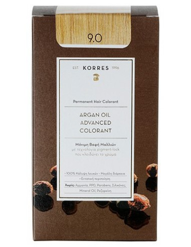KORRES ARGAN OIL ADVANCED COLORANT  9.0 ΚΑΤΑΞΑΝΘΟ ΦΥΣΙΚΟ