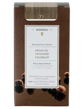 KORRES Argan Oil Advanced Colorant 7.1 Ξανθό Σαντρέ, 50ml