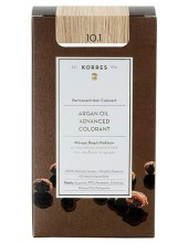 KORRES Argan Oil Advanced Colorant 10.1 Ξανθό Πλατίνας Σαντρέ, 50ml