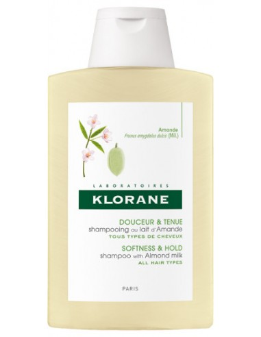 KLORANE Shampoo with Almond Milk (Lait d'Amande) 200ml