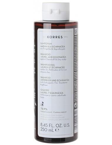 KORRES Laurel and Echinacea Shampoo for Dandruff & Dry Scalp 250ml