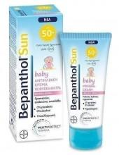 BEPANTHOL SUN Baby Mineral Cream Fragile Skin 50ml