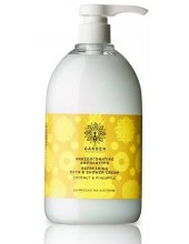 Garden of Panthenols Refreshing Bath & Shower Cream Coconut & Pineapple, αφρόλουτρο 1000ml