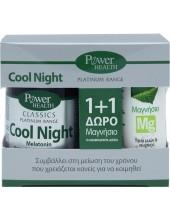 POWER HEALTH Classics Cool Night 30 Tabs + Μαγνήσιο Mg 10 αναβράζοντα δισκία