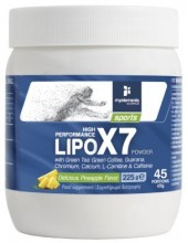 MY ELEMENTS LipoX7 (Sports Fat Βurner) powder 225gr Pineapple Flavor