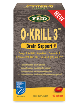 FMD (FLORA) O-KRILL 3 Brain Support 60 softgels