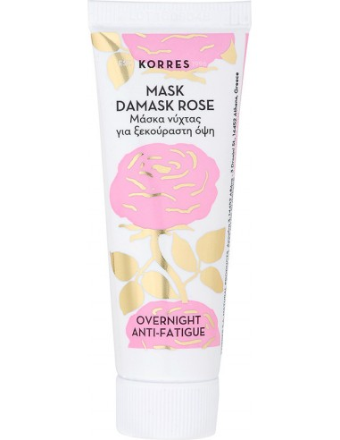 KORRES Mask Damask Rose Overnight Anti-Fatigue 18ml