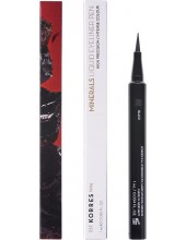 KORRES Minerals Liquid Eyeliner Pen 01 Black 1ml