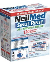 NeilMed Sinus Rinse 120 Regular Premixed Packets
