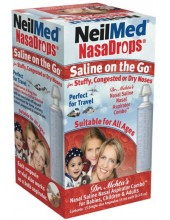 NeilMed Nasadrops Saline on the Go 15amps x 15ml