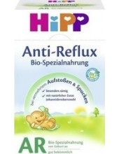 HIPP AR Anti-Reflux Organic Milk, Βιολογικό αντιαναγωγικό βρεφικό γάλα 500gr