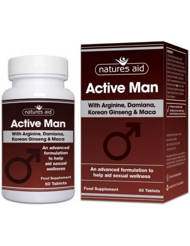 NATURES AID Active Man 60 tabs