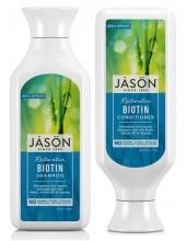 JASON Restorative Biotin Shampoo 473ml & ΔΩΡΟ JASON Restorative Biotin Conditioner 473ml