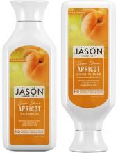 JASON Super Shine Apricot Shampoo 473ml & ΔΩΡΟ JASON Super Shine Apricot Conditioner 473ml