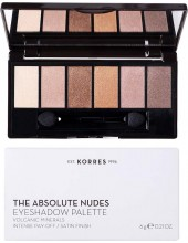 KORRES Volcanic Minerals Eyeshadow Palette The Absolute Nudes 6gr