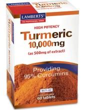 LAMBERTS Turmeric 10000mg (κουρκουμάς) 60 tabs